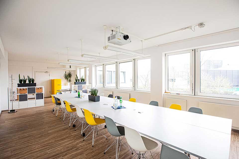 high class office center